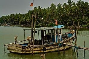 Pazhayangadi - Boat service to Kannur