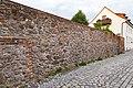 Mauergasse, Mauer des Schlossbezirks, von Süden Delitzsch 20180813 003.jpg