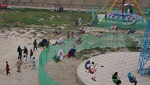 Maulana Jalaludin park in northern Afghanistan-2