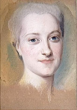 Princess Maria Christina of Saxony (1735–1782) - Maria Christina by Maurice Quentin de La Tour