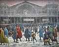 Maximilien Luce-La Gare de l'Est sous la neige-1917.jpg