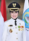 Mayor of South Tangerang Airin Rachmi Diany.jpg