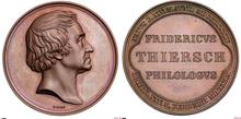 Medal Friedrich Wilhelm Thiersch 1860 (Source: Wikimedia)