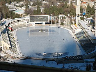 Almaty bid for the 2022 Winter Olympics - Medeo, a probable location near Almaty for skating.