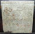 Medio regno, stele funeraria del soprintendente ai profeti intef, fine XI-inizio XII dinastia, 2135-1781 ac..JPG
