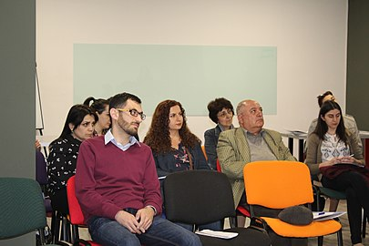 Meeting with GLAM institutions at Wikimedia Armenia 04.jpg