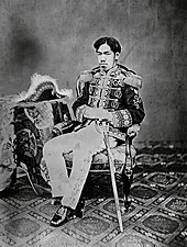 Emperor Meiji, the first emperor of the Empire of Japan (1867–1912)