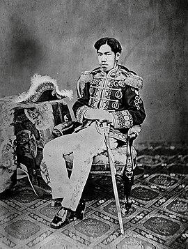 Emperor Meiji of Japan, 1867 - 1912