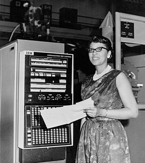 African-American women in computer science - Melba Roy Mouton, an early programmer at NASA