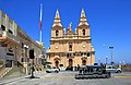 Mellieha Parish church Malta 1.jpg