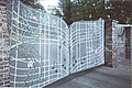 Memphis,Tn Elvis Presley's house,The Front Gates at Graceland on Elvis Presley Blvd in Memphis Tn.jpg
