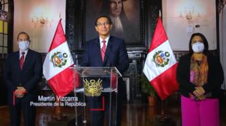 First impeachment process against Martín Vizcarra