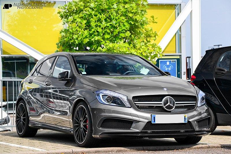 Znak Mercedes Benz >> Plik:Mercedes-Benz A45 AMG - Flickr - Alexandre Prévot.jpg – Wikipedia, wolna encyklopedia