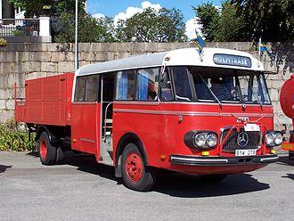 """Skvader - A typical """"skvader"""" bus"""