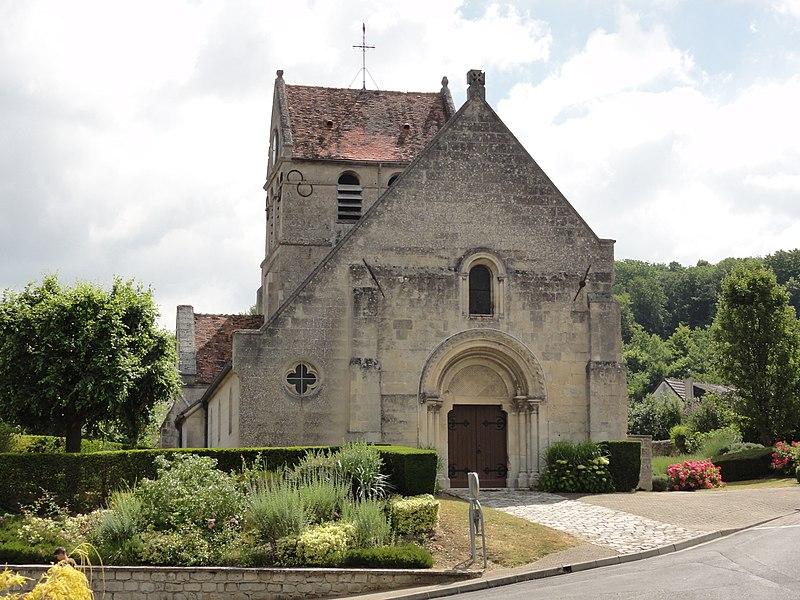Mercin-et-Vaux (Aisne) église Saint-Léger