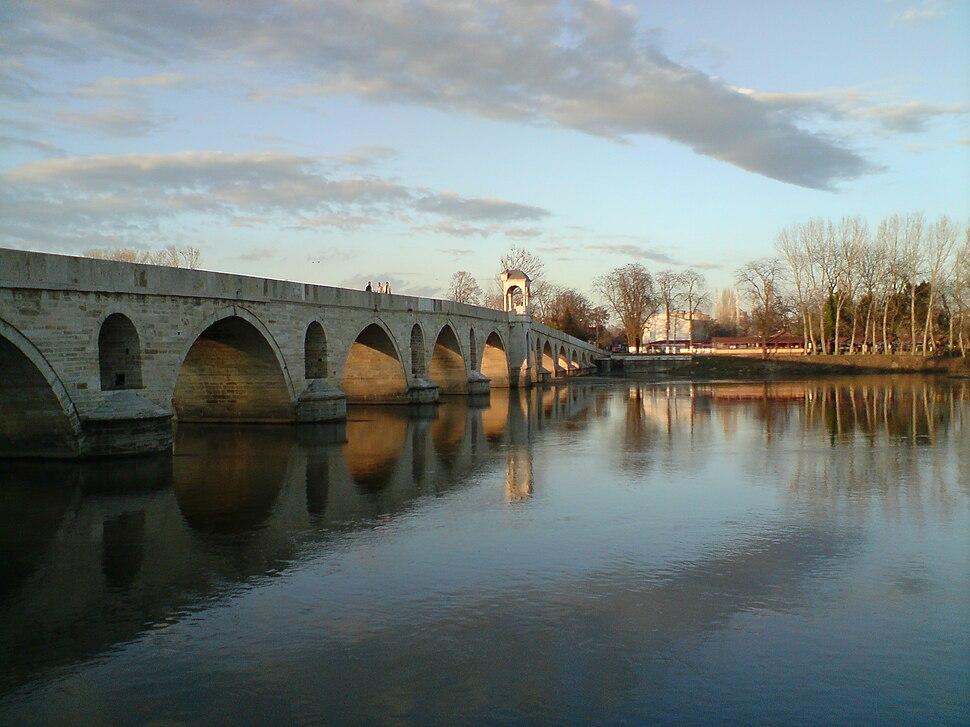 Meriç Köprüsü ve Meriç Nehri
