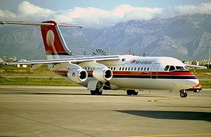 Meridiana - British Aerospace BAe-146-300.jpg