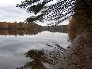 Merrimack River - The Merrimack River in Pembroke, New Hampshire