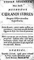 Methodus curandi febres... Wellcome L0000050.jpg
