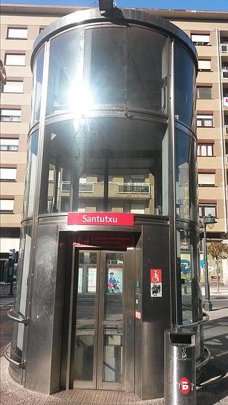 Santutxu - Santutxu metro station elevator
