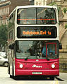 Metro (Belfast) bus 2907 (EEZ 2907) 2005 Volvo B7TL Alexander Dennis ALX400, 26 September 2008.jpg