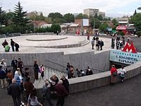 Metro Tsereteli Outside the station - Tbilisi.jpg