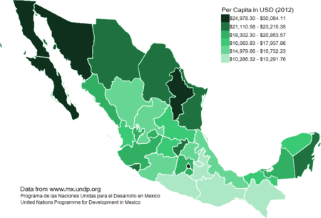 Mexico City Gross Domestic Product