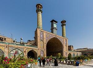 Shah Mosque (Tehran) - Image: Mezquita Shah, Teherán, Irán, 2016 09 17, DD 48