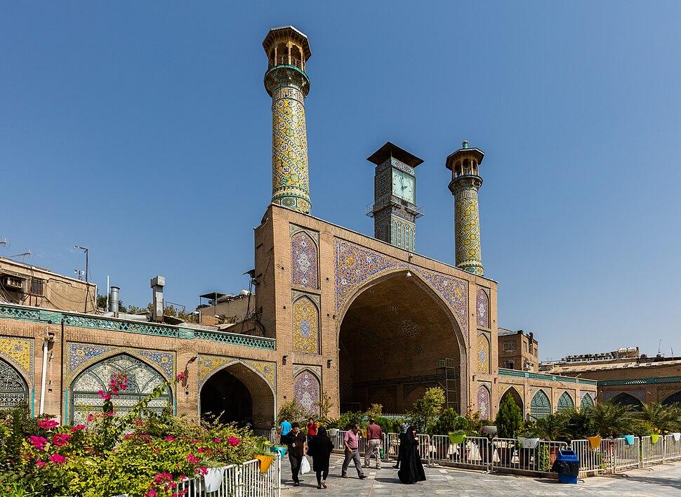 Mezquita Shah, Teherán, Irán, 2016-09-17, DD 48