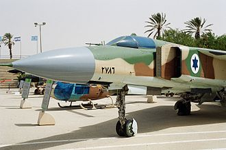 Israeli Air Force Museum - Former Syrian MiG-23 at the IAF Museum