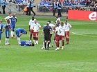 Michael Ballack on the ground FA Cup Final 2010