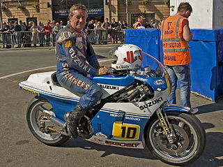 Mick Grant British motorcycle racer