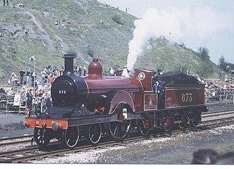 Midland Railway 115 Class - No. 673 at the Rainhill Trials 150th anniversary cavalcade in 1980