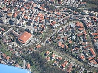 Miesbach - Aerial view