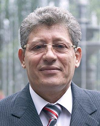 July 2009 Moldovan parliamentary election - Image: Mihai Ghimpu (cropped)