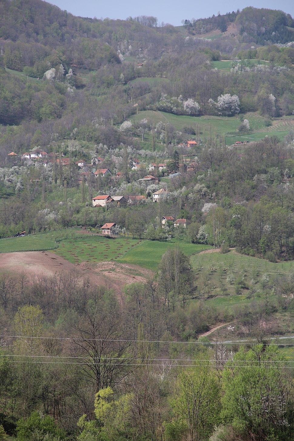 Mijači - opština Valjevo - zapadna Srbija - panorama 2