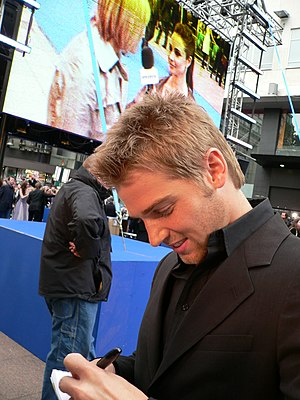 Mike Vogel - Vogel at the London premiere of Poseidon in May 2006
