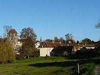Milhac-d'Auberoche village.JPG