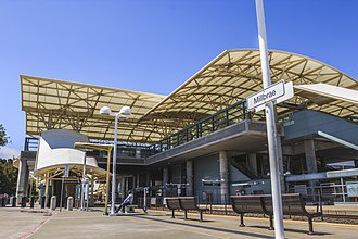 Millbrae, California - BART-Caltrain Station located in Millbrae