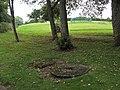 Millstones in Goldenhill Park - geograph.org.uk - 1511442.jpg