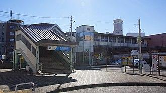 Minami-Rinkan Station - The east entrance in December 2016