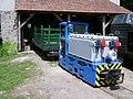 Mine lokomotiv El-9 in Kemence.JPG