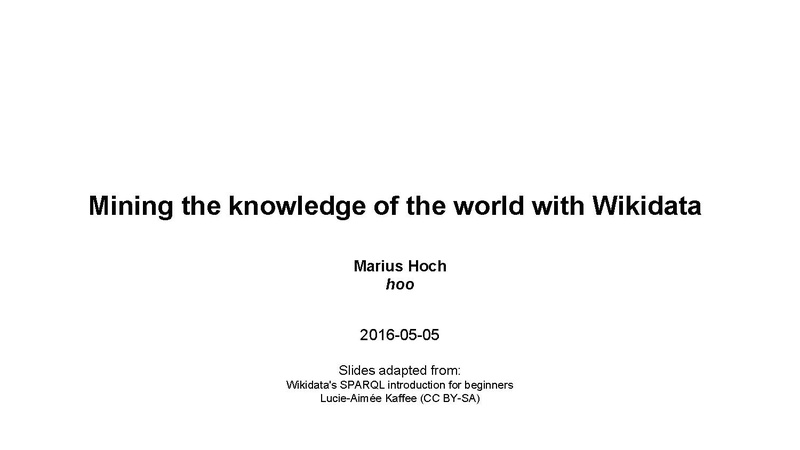 പ്രമാണം:Mining the knowledge of the world with Wikidata.pdf