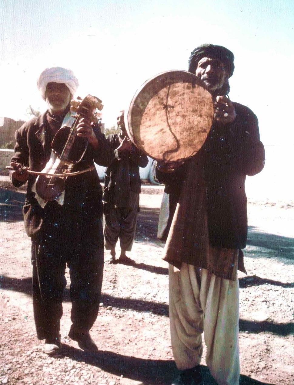 Minstrels, Herat, 1973