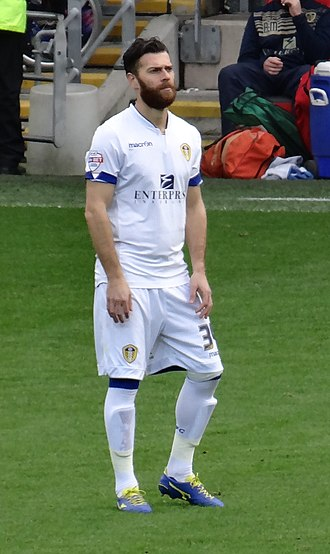 Mirco Antenucci - Antenucci playing for Leeds United in 2014