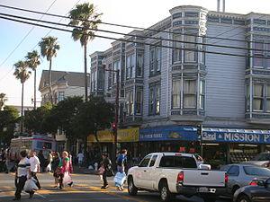 English: Street of Mission ( San Francisco) Ca...