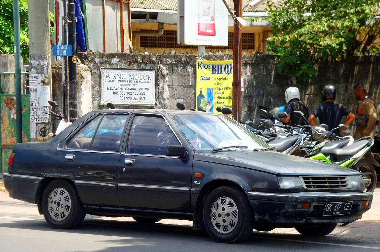 File Mitsubishi Lancer Glx Depan Denpasar Jpg Wikimedia Commons