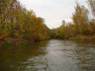 river in Ukraine and Russia