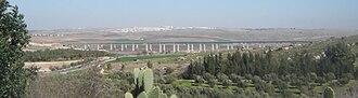 Ayalon Valley - Train bridge, Ayalon Valley