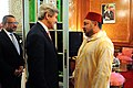 Mohammed VI meets John Kerry and Dwight Bush.jpg